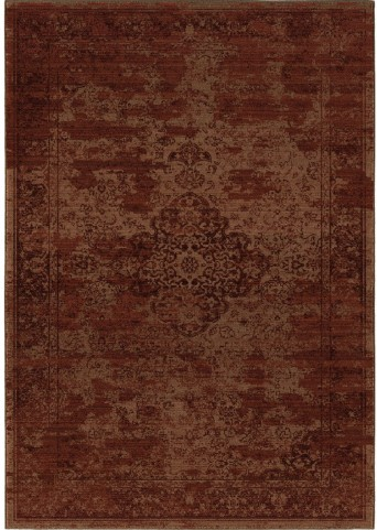 Orian Rugs Indoor Damask Faded Morocco Burgundy Area Large Rug
