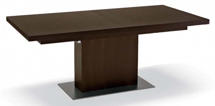 Vita Wenge Rectangular Extendable Table