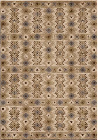 Orian Rugs Insanely Soft Southwest Kashgai Beige Area Small Rug