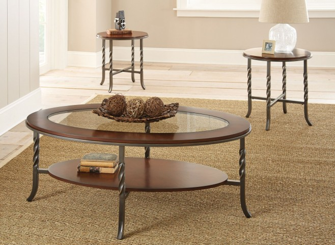 Vance 3 Piece Occasional Table Set