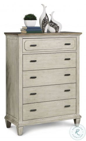Newport Off Whites Upholstered Youth Panel Bedroom Set