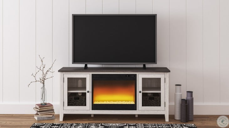 "Dorrinson Two Tone 60"" TV Stand"