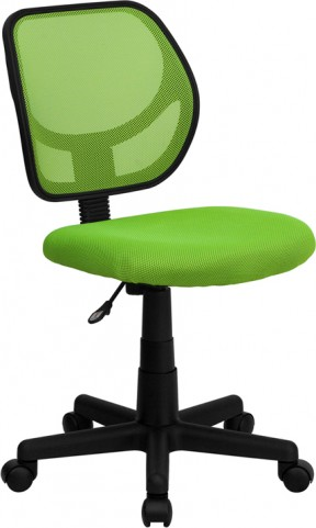 Mid-Back Green Task Chair and Computer Chair