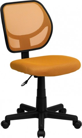 Mid-Back Orange Task Chair and Computer Chair