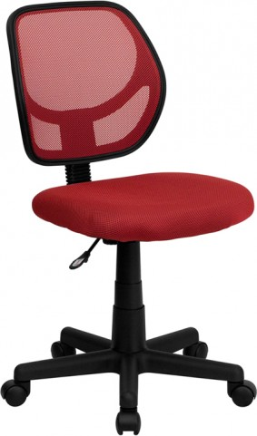 Mid-Back Red Task Chair and Computer Chair