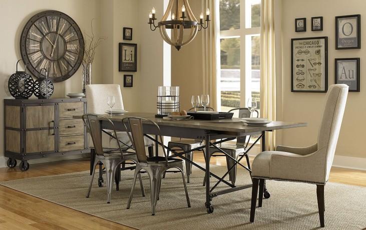 Walton Rectangular Extendable Dining Room Set