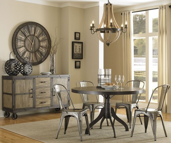 Walton Round Extendable Dining Room Set