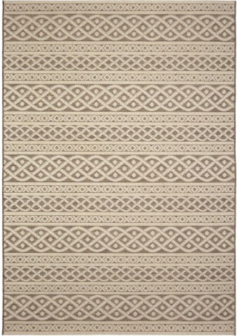 Orian Rugs Indoor/ Outdoor Knit Organic Cable tan Area Large Rug