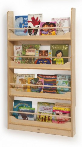 Wall Mount Book Shelf