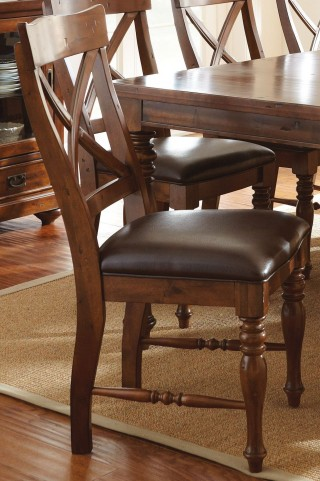 Wyndham Medium Cherry Side Chair Set of 2