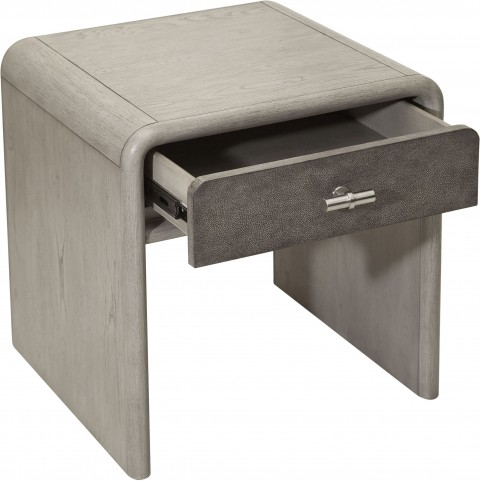 Urban Eclectic Gray Oak End Table
