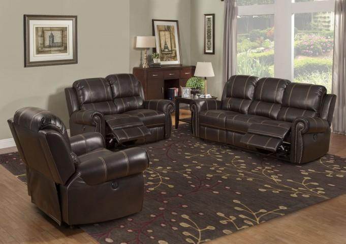 Webber Sumatra Dual Power Reclining Living Room Set