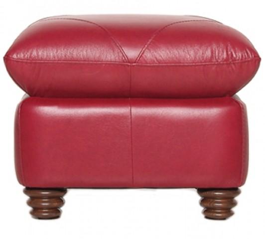 Weston Italian Leather Ottoman