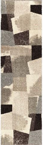Wild Weave Plush Abstract Rampart Gray Medium Area Rug