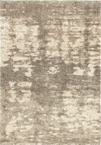 Orian Rugs Plush Abstract Rada Gray Area Large Rug