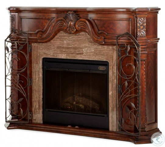Windsor Court Fireplace With Electric Fireplace Insert