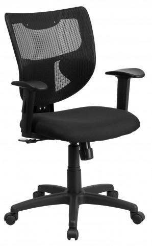 10001538 Galaxy Designer Back Adjustable Arm Task Chair