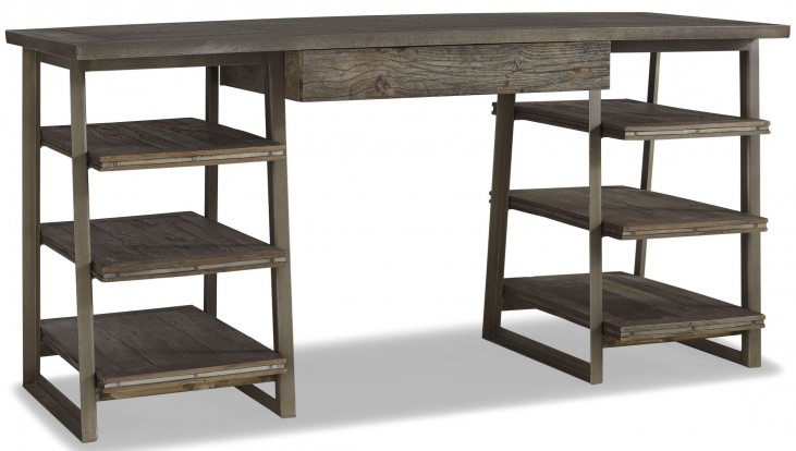 Winston Zinc Top Desk
