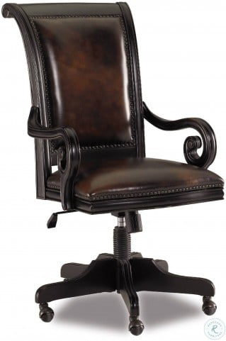 Telluride Black Tilt Swivel Chair
