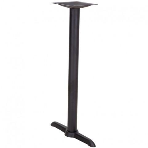 5'' x 22'' Restaurant Table T-Base with 3'' Dia. Bar Height Column