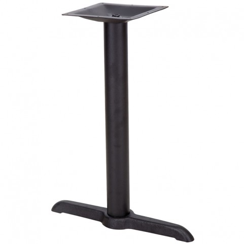 5'' x 22'' Restaurant Table T-Base with 3'' Table Height Column