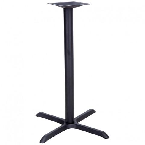 22'' x 30'' Restaurant Table X-Base with 3'' Bar Height Column