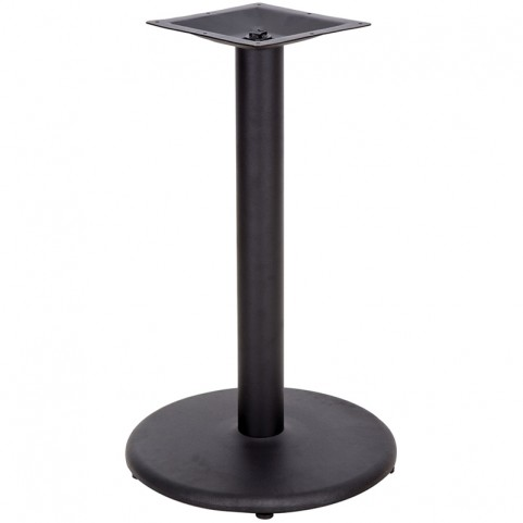 24'' Round Restaurant Table Base with 4'' Table Height Column