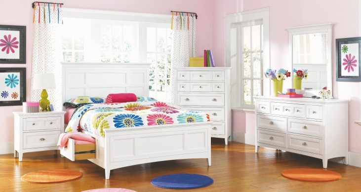 Kenley Youth Panel Dual Side Storage Bedroom Set
