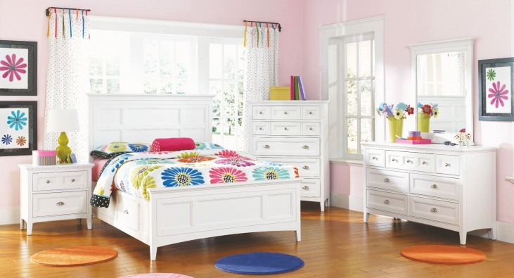 Kenley Youth Panel One Side Storage Bedroom Set