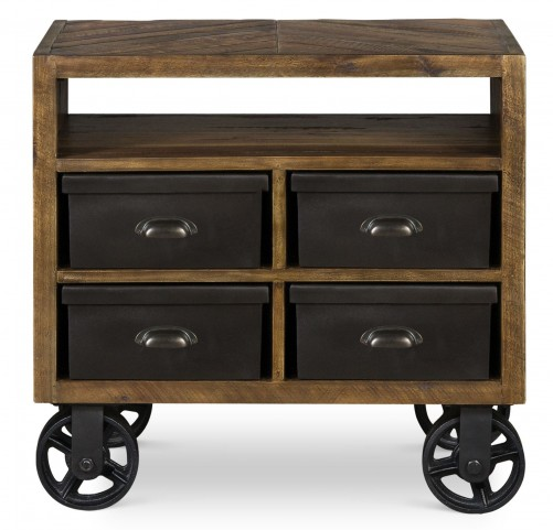 Braxton Drawer Nightstand With Casters