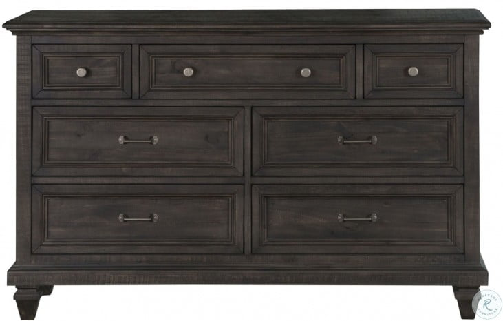 Calistoga Weathered Charcoal Drawer Dresser