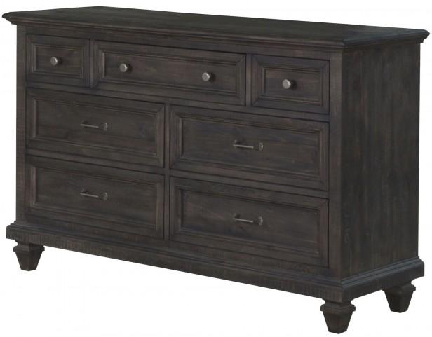 Calistoga Weathered Charcoal Drawer Dresser