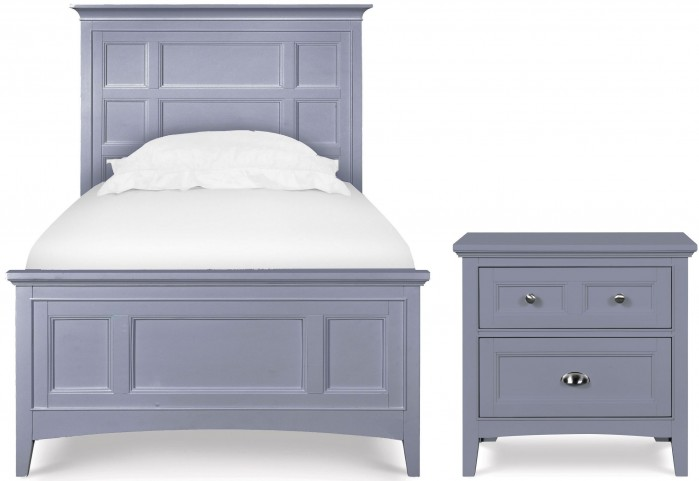 Graylyn Steel Drum Youth Panel Bedroom Set