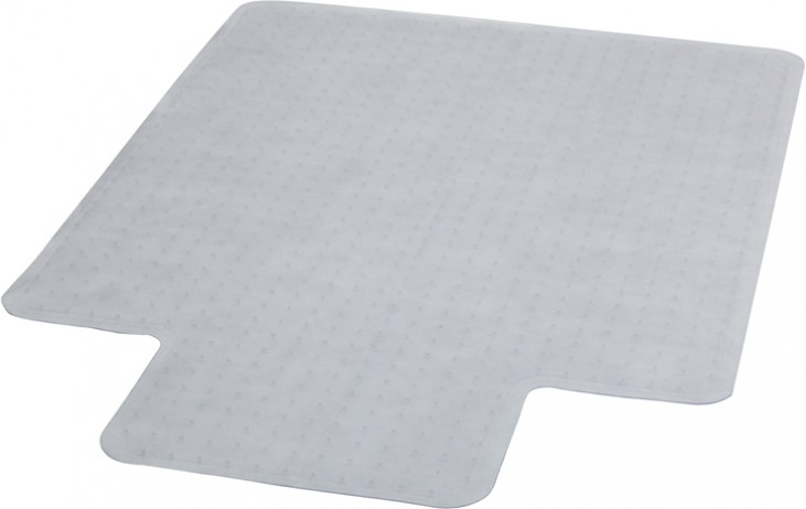 """45"""" Carpet Chairmat with Lip"""