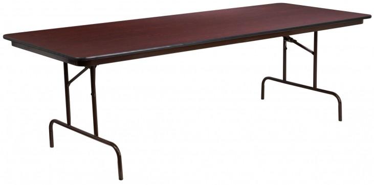 "36""W Rectangular High Pressure Laminate Folding Banquet Table"