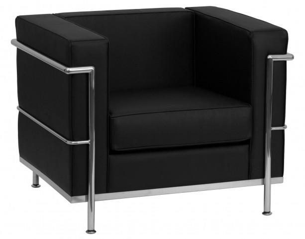 Hercules Regal Series Black Leather Chair
