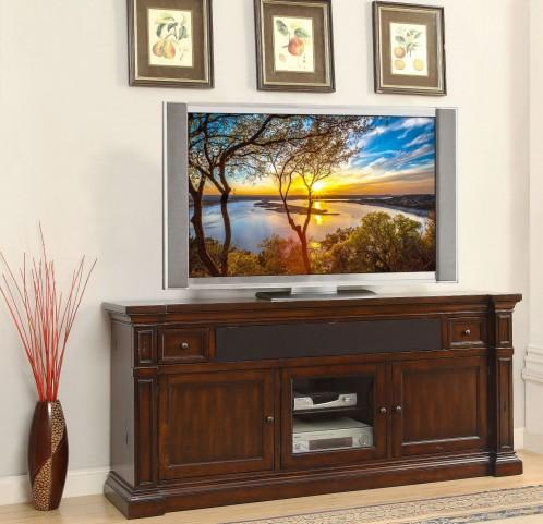 "Berkshire Old World Umber 76"" Premium TV Console"