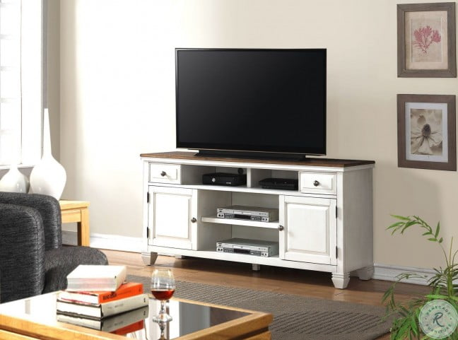 Camden White Entertainment Wall Unit From Legends
