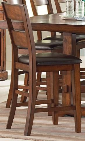 Zappa Medium Cherry Counter Chair Set of 2