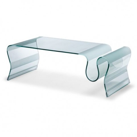 Discovery Tempered Glass Cocktail Table