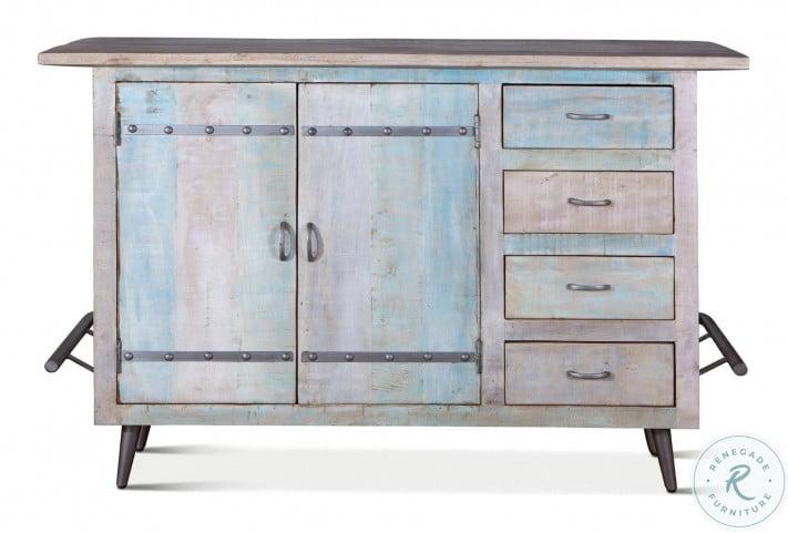 Cordoba Vintage Reclaimed Teak Bar Cabinet