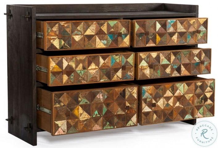 Messina Rich Java Dresser