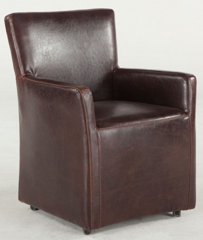 Ordinaire LOOKS GREAT WITH. Image Of Item Paddy Distressed Tobacco Leather Dining  Chair