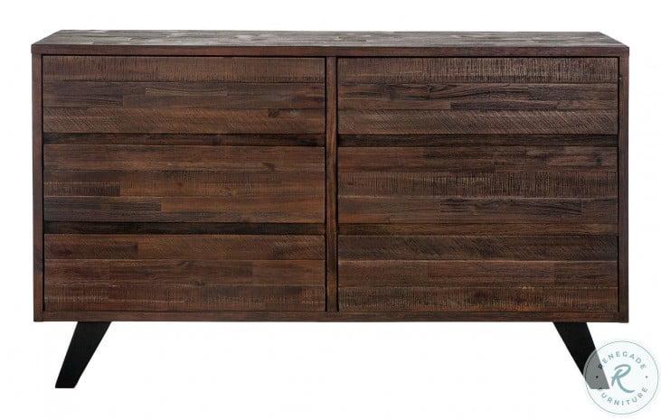 """Bruges Dark Brown 60"""" Dresser"""