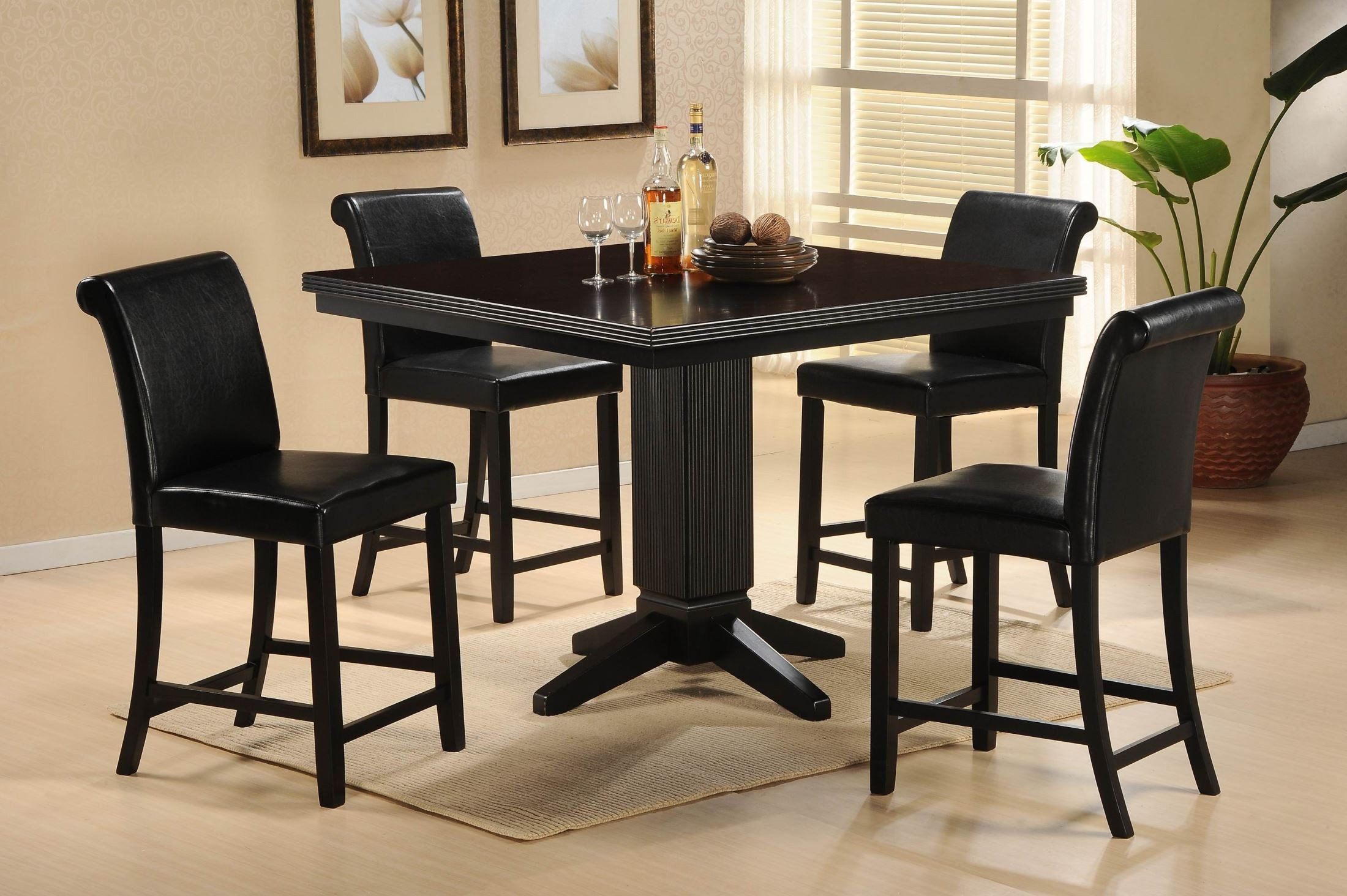 Table Height 36: Papario Nook Counter Height Dining Table From Homelegance