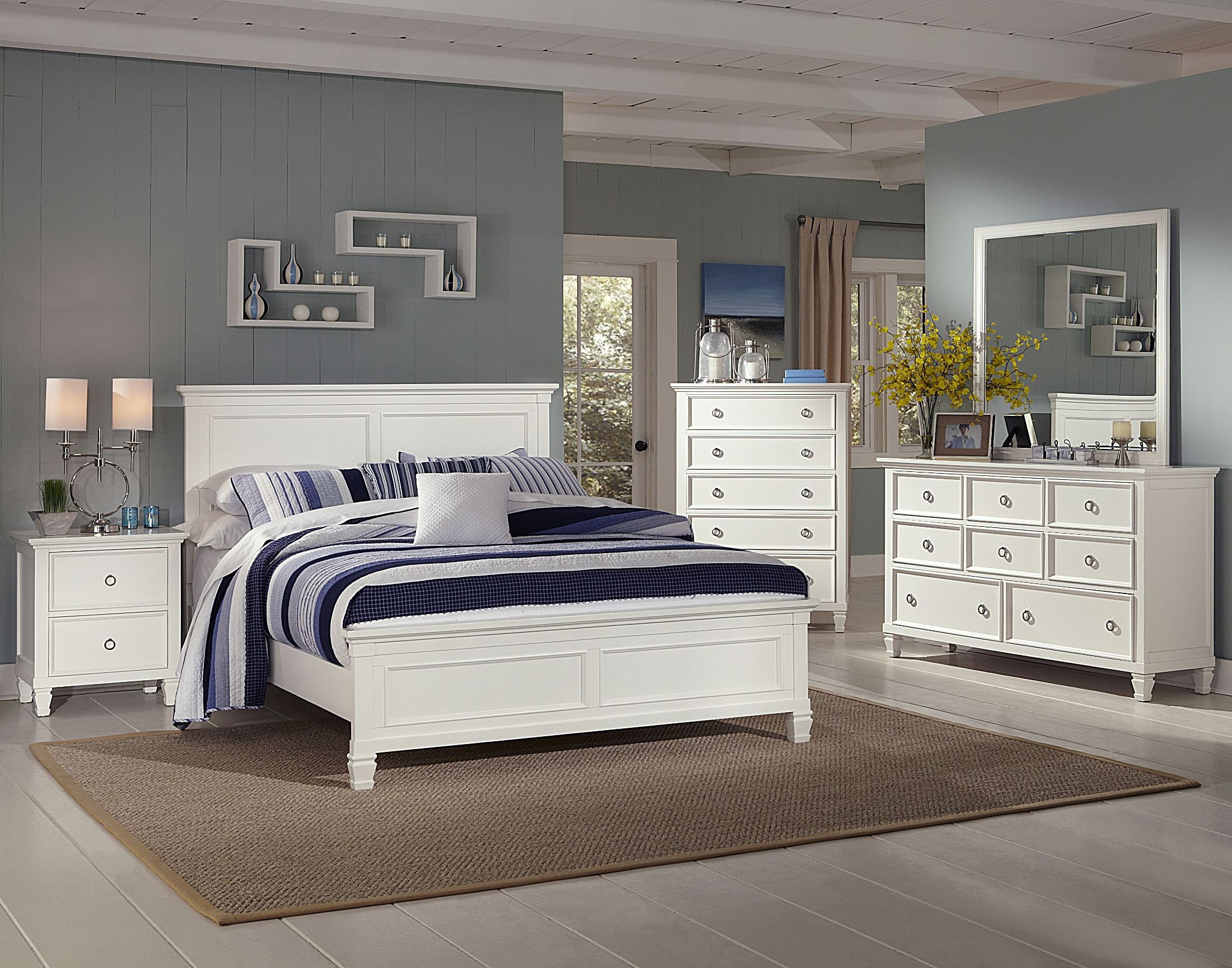 Delicieux Tamarack White Platform Bedroom Set From New Classics (00 044 315 335) |  Coleman Furniture
