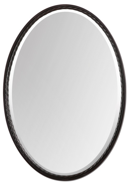 Casalina Oil Rubbed Bronze Oval Mirror From Uttermost