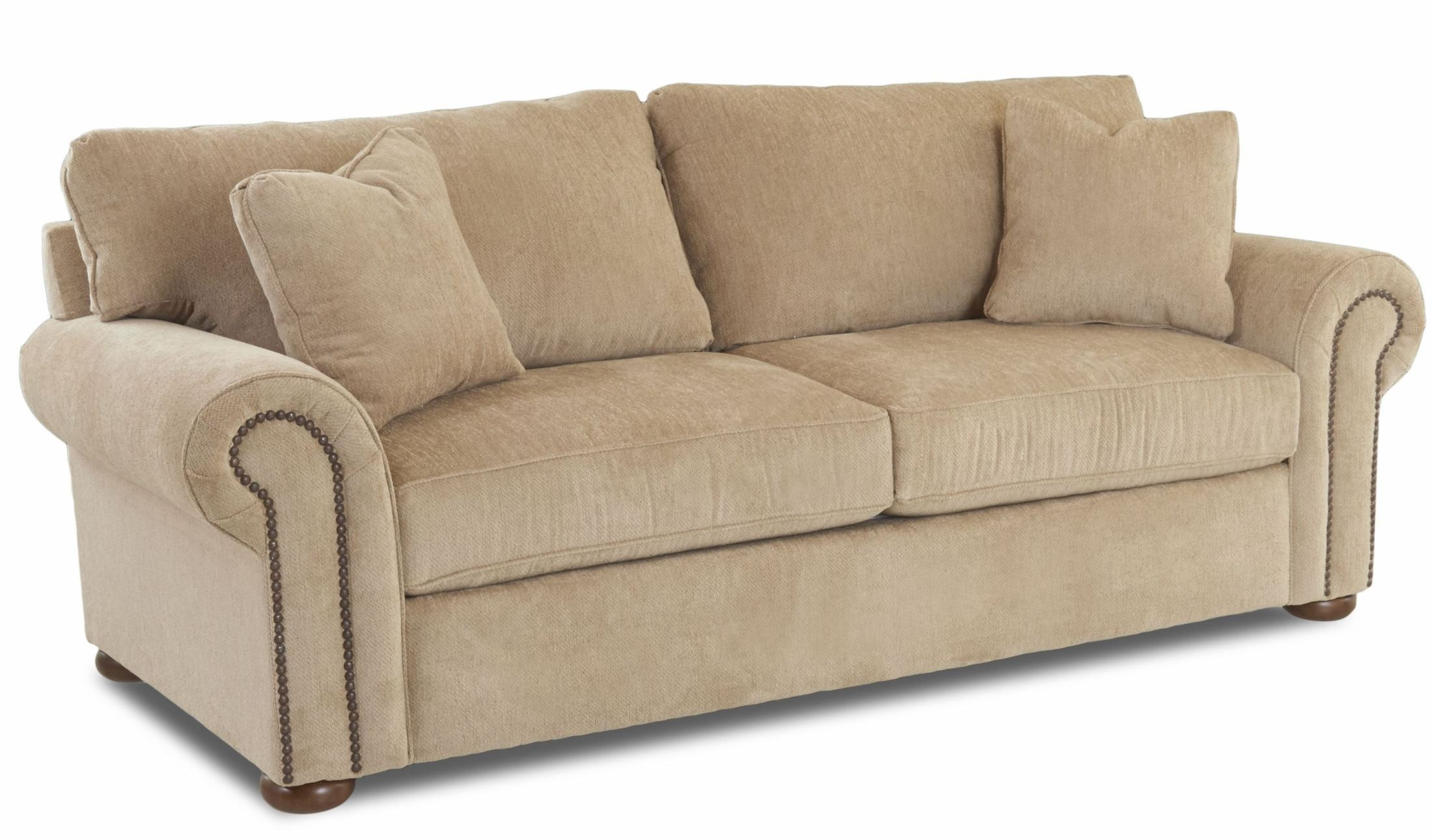 Sienna Oatmeal Furby Sofa From Klaussner Coleman Furniture