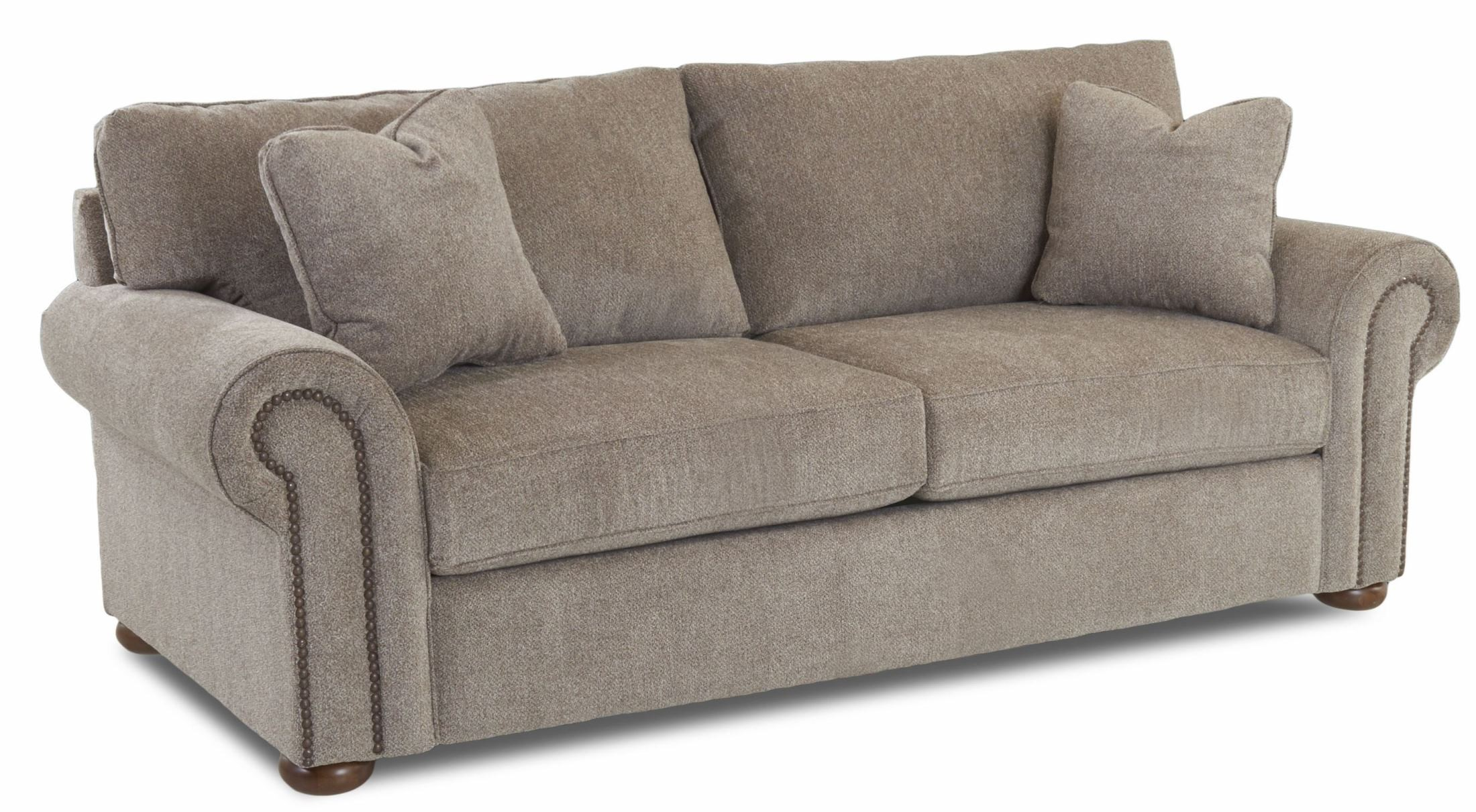 Sienna Pewter Furby Sofa From Klaussner Coleman Furniture