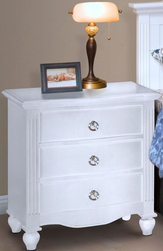 Victoria White Night Stand From New Classic Coleman
